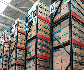 File Adhoc - Resguardo físico en nuestro almacén seguro
